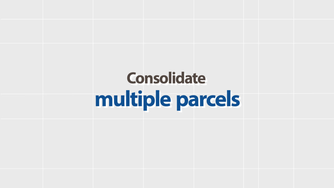 Consolidate multiple parcels for collection